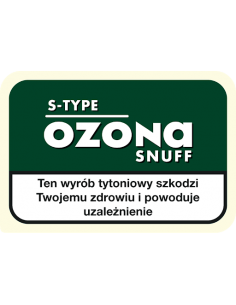 Tabaka Ozona S-TYPE 10g - Spermint