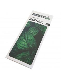 Freeze card - Menthol